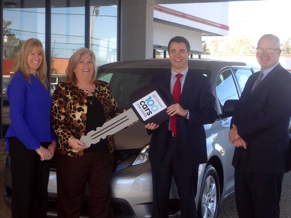 Photo of our new van from Estabrook Toyota